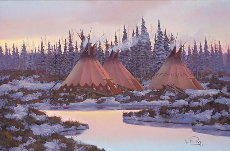 Ron Bailey   Tepees