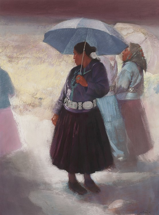 Clifford Beck | Woman with Umbrella