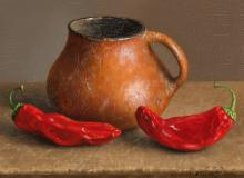 William Acheff | Perry Mesa with Red Chile