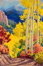 Sheldon Parsons | Aspens and Scrub Oak