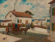 Hernando Villa   Village Scene