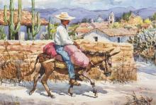 Tom Hill | Rural Road Near Capula