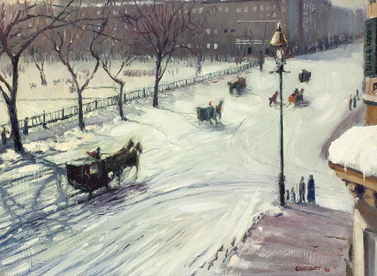 Vincent  Castellanet | Beacon Street Winter