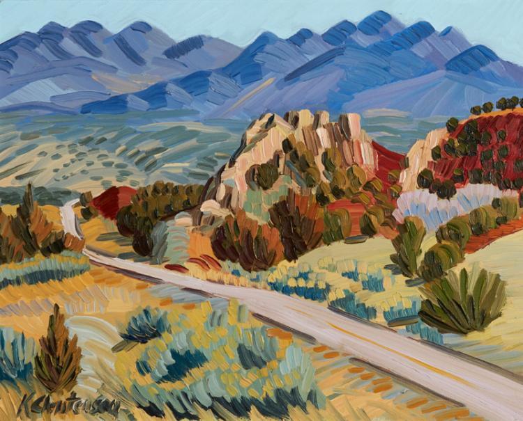 Ken  Christensen | Road to Chimayo