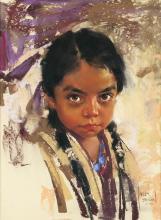 Harley Brown | Native American Girl