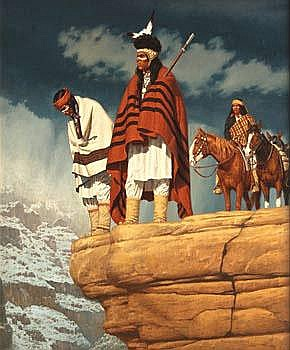 DavidNordahl Overlook 30 by 24 inches Oil on