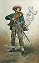 Don Troiani Confederate First Sergeant 26 by 16, Don Troiani, Click for value