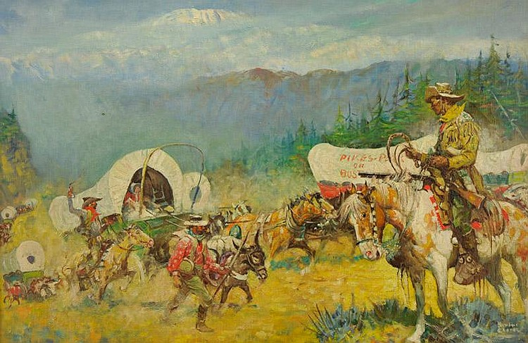 Benton Henderson Clark. 1895 - 1964. Pike's Peak