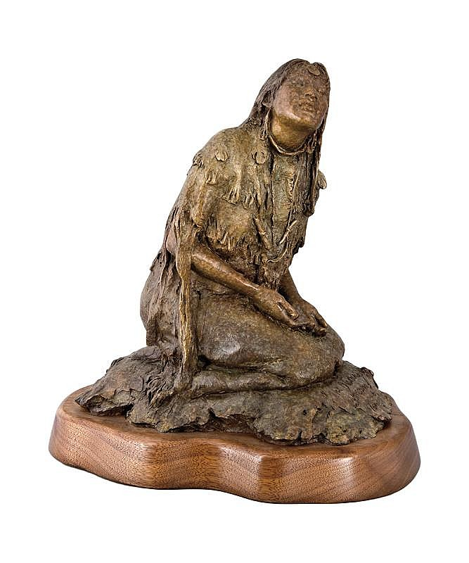 John Coleman. b. 1949 CAA. The Blessing. Bronze.