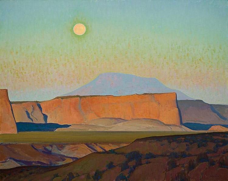 Glenn Dean. b. 1976. Overture. Oil on canvas. 40