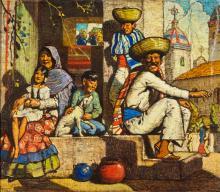Hernando Villa   Mexican Family