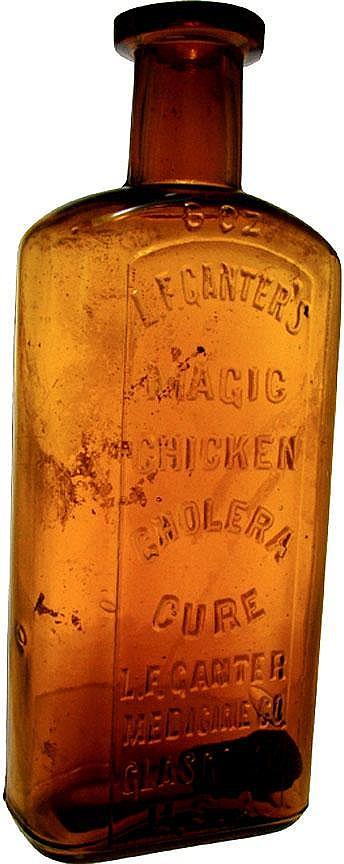 Sold Price L F Ganter S Magic Chicken Cholera Cure L F