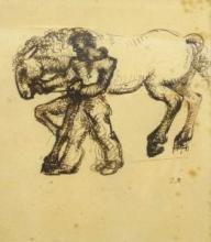 [Drawings] Man and Horse