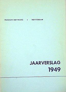 [Art] Jaarverslag Museum Boymans [Total 11]