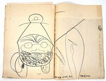 [Catalogues] Dieter Roth Boeken 120 köpfe von Dieter Roth 8 köpfe von Vera Roth [Total 2]