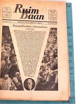 [Magazines] Ruim Baan Tijdschrift voor de Nederlandse Jongeren / Tijdschrift voor Jonge Mensen