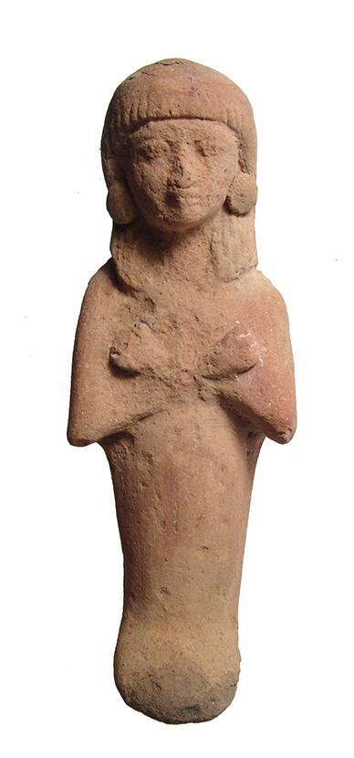 Egyptian terracotta ushabti, Late New Kingdom