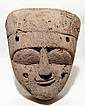 Attractive Egyptian wood mummy mask