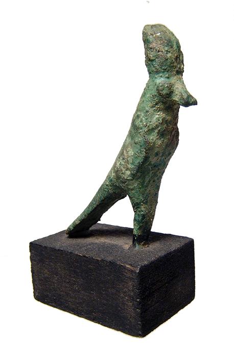 Egyptian bronze figure of Horus, Late Period