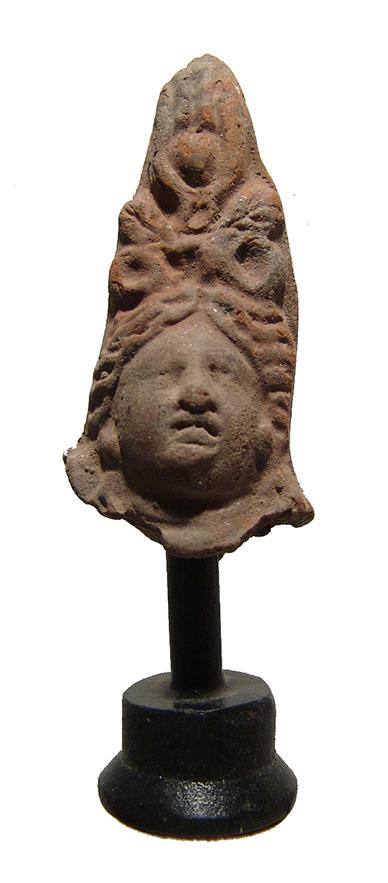 Romano-Egyptian terracotta head of Isis