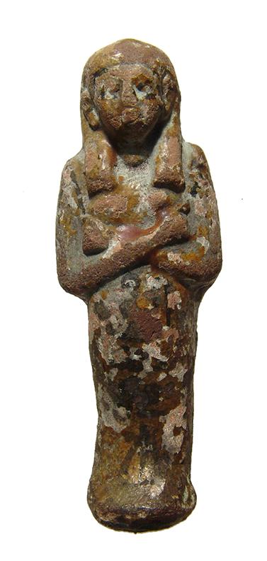 Egyptian ceramic ushabti, 3rd Intermediate Period