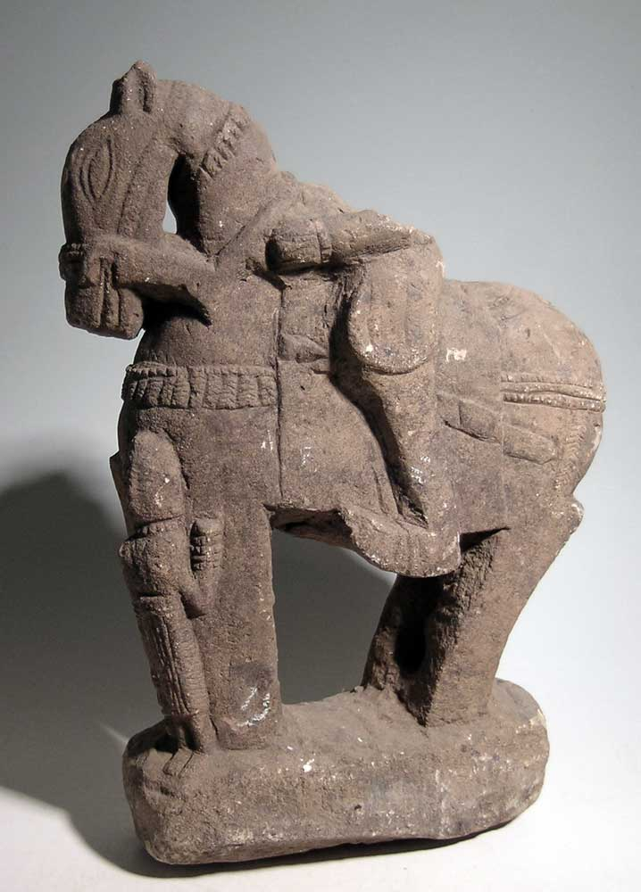 A beautiful Central Asian stone sculpture