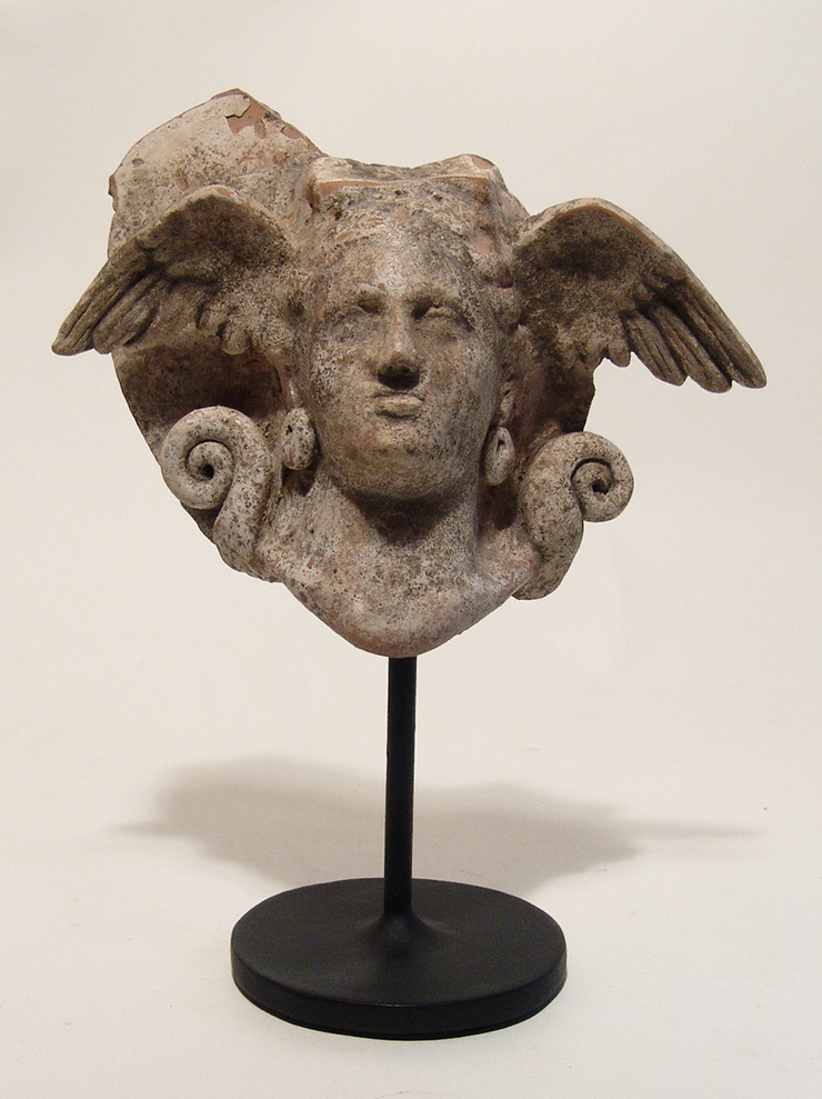 A fantastic Greek ceramic antefix