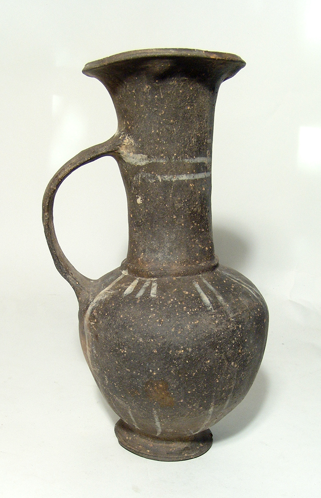 A large Cypriot terracotta bilbil jar
