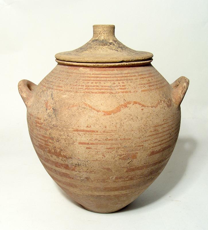 A nice Etrusco-Corinthian lidded stamnos