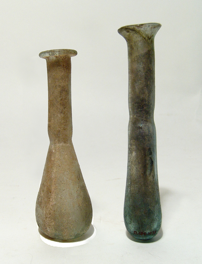 A nice pair of Roman glass vessels
