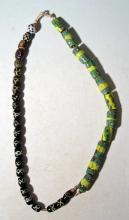 Two strands of gorgeous Venetian glass beads