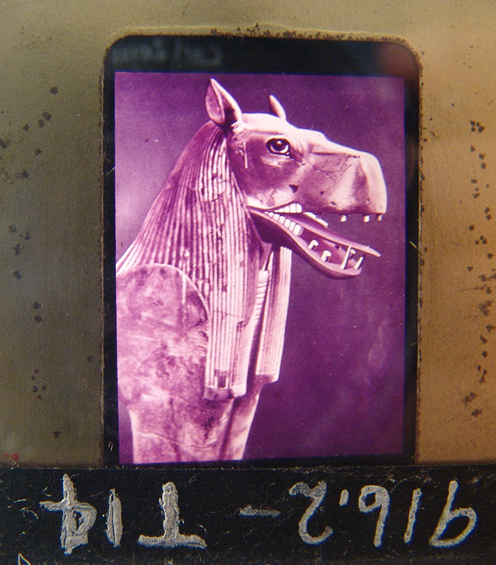 Marvelous collection of antique glass slides, King Tut Tomb