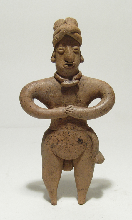 Colima standing male figure, West Mexico