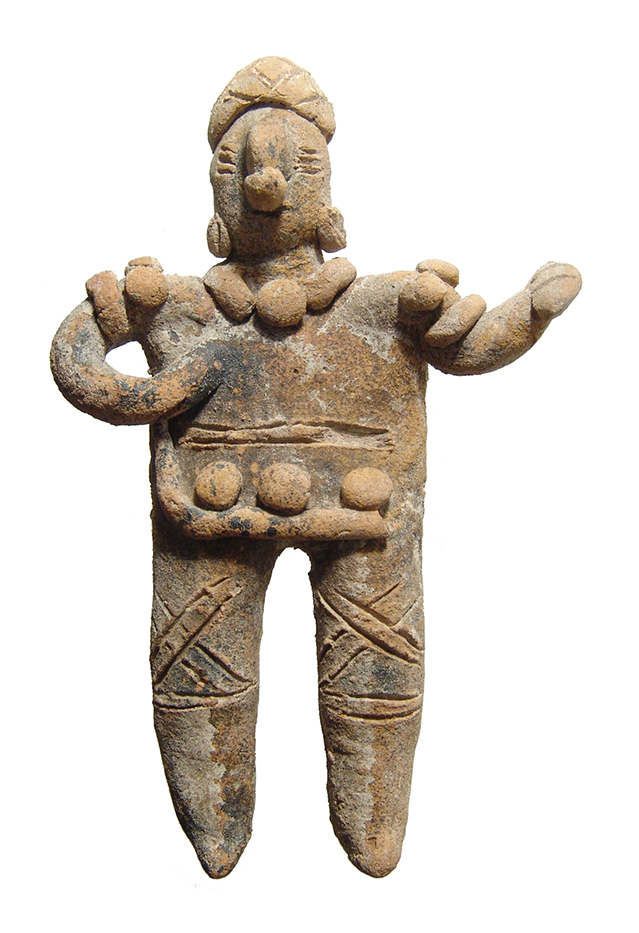Colima standing figurine of a man, West Mexico