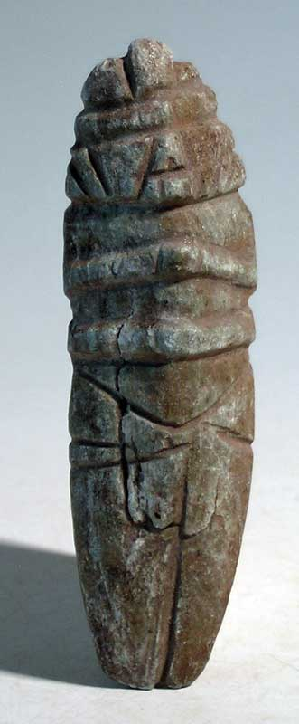 Large Maya Camahuil idol from the Quiche area