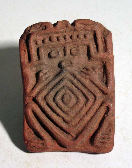 A rare figural stamp from Guerrero, Mexico