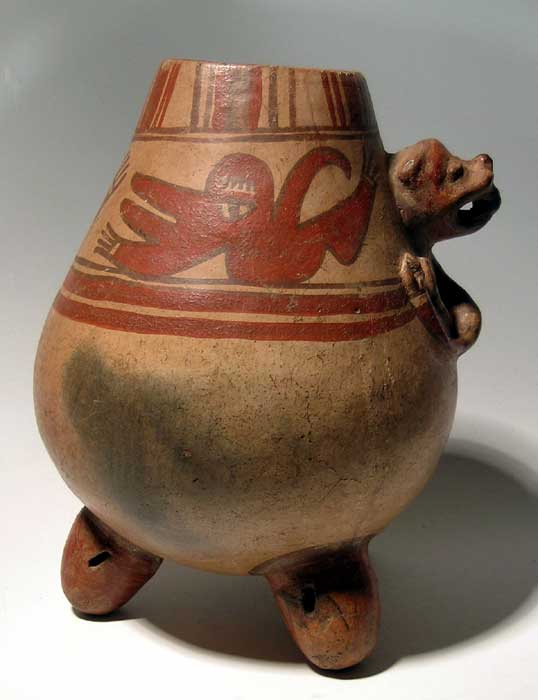 Excellent Nicoya tripod vessel from Costa Rica