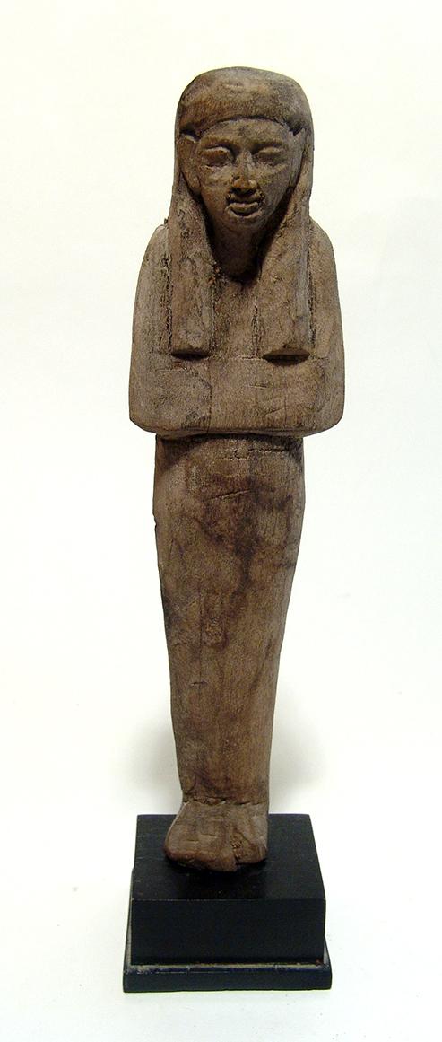 A nice Egyptian wood ushabti, New Kingdom