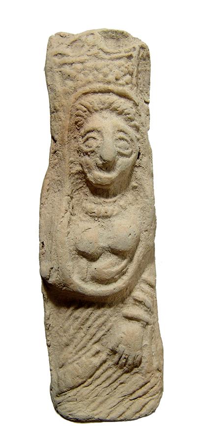 A beautiful Near Eastern terracotta fertility figure