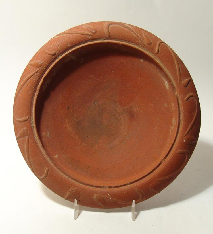 A choice Roman Samian-ware shallow bowl