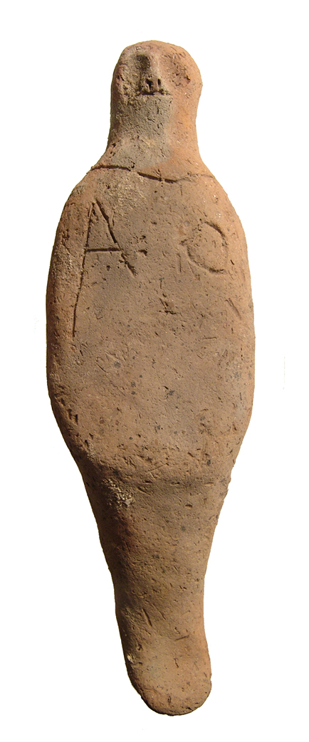 An interesting Egyptian terracotta ushabti