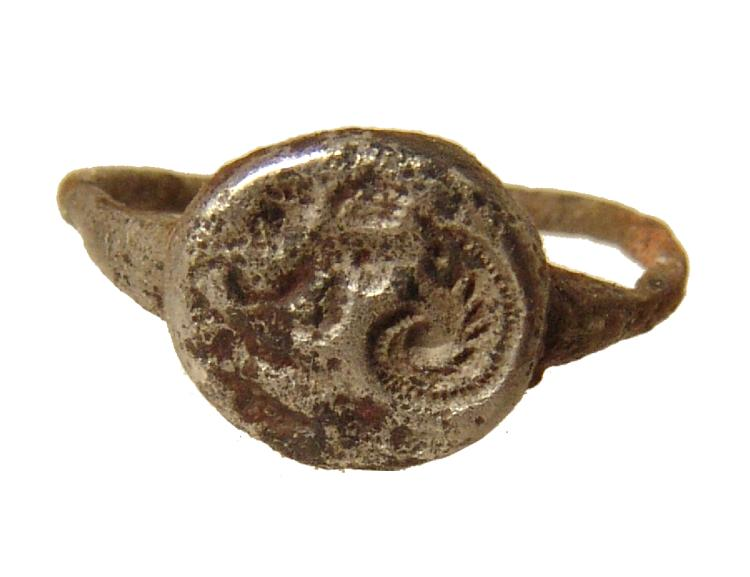 A Late Roman/Byzantine silver ring
