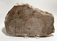 Old Kingdom Limestone relief