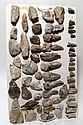 Lot of 45 European stone age tools