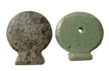 Egyptian solar disk amulets, Late Period - Ptolemaic