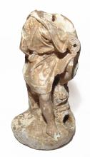 Roman marble fountainhead in the form of a youth