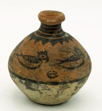 A lovely spouted bottle from the Indus Valley