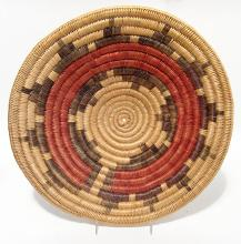 A large and well-preserved Navajo wedding basket