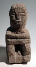 Stone figure from Atlantic Watershed region, Costa Rica