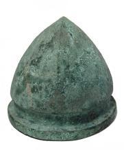 A rare Etruscan bronze helmet of Negau type
